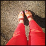 Ziera two tone wedges