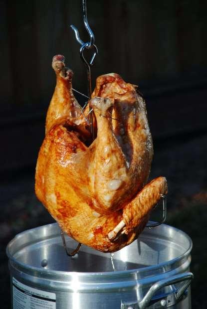 health fried tureky