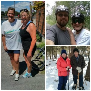 Me and my 75-yr-old mom, my hubby, and my 75-yr-old dad