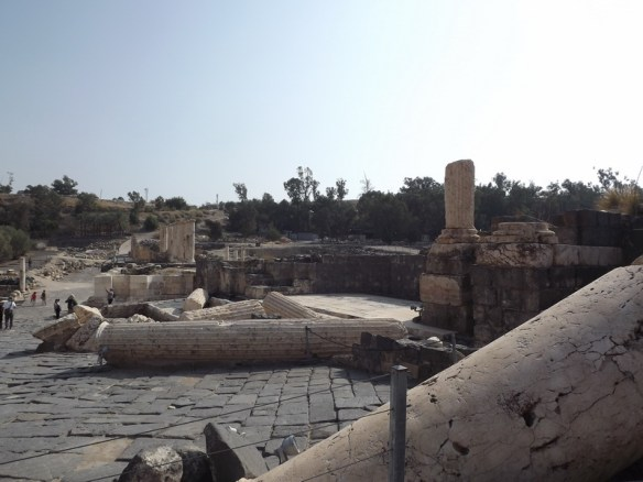 Ancient city destroyed by earthquake