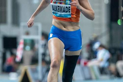 100 meter sprint wk dubai