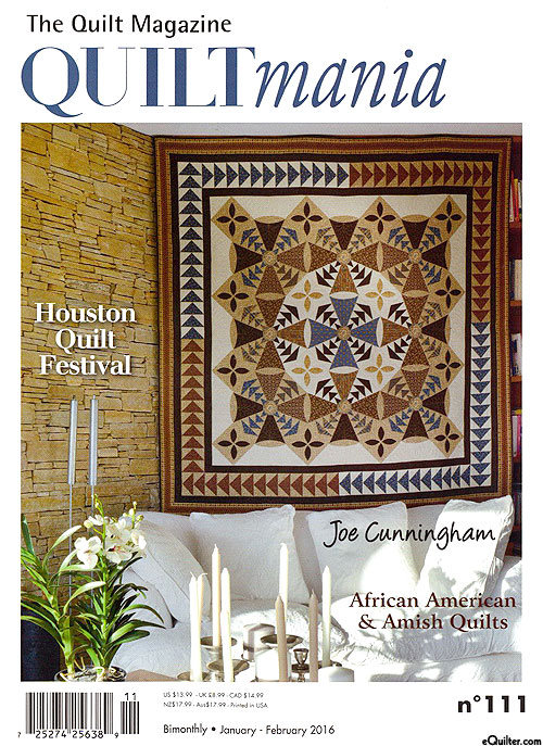 Magazine Quilt Embroidery Patterns Pattern Quilts Sewing Hand
