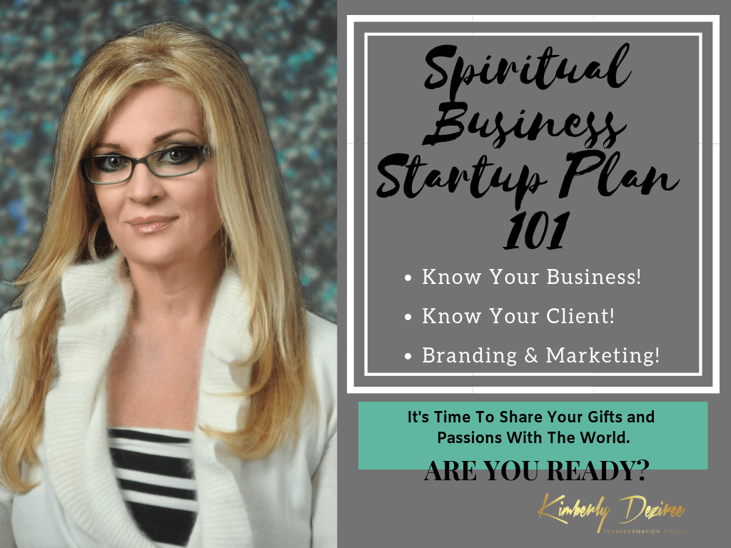 My courses Spiritual Business Startup Plan 101