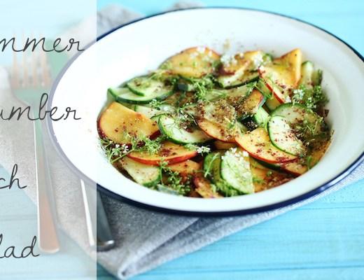 cucumber-peach-salad-recipe