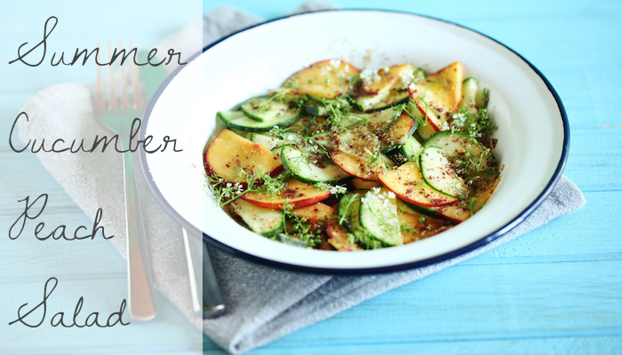 cucumber-peach-salad-recipe