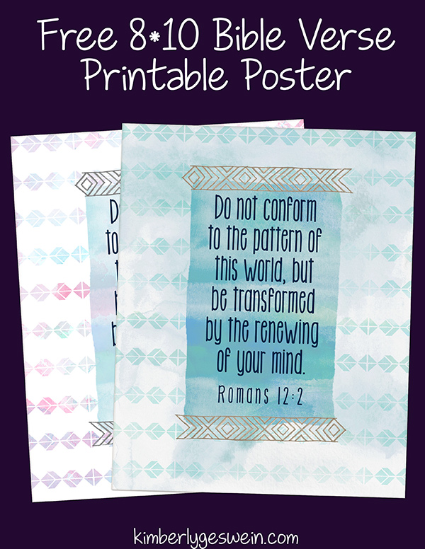 Do Not Conform Printable Poster