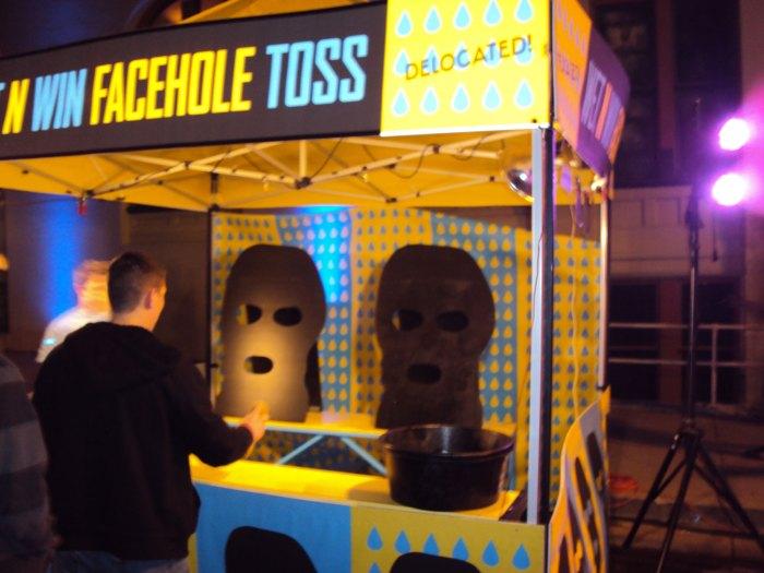 facehole toss