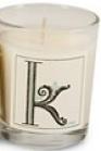 Illume Monogram K Candle