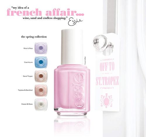 essie french affair nail polish spring 2011