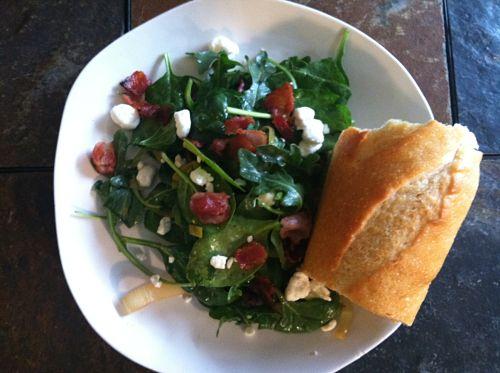 warm mushroom salad with bacon vinaigrette food & wine magazine