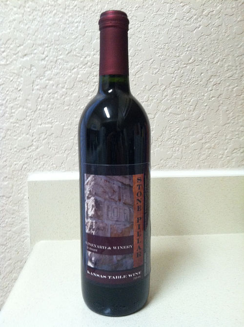 Stone Pillar Vineyard and Winery St. Vincent dry red wine