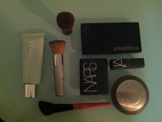 clinique nars smashbox becca face makeup