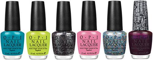 OPI nicki minaj nail polish collection
