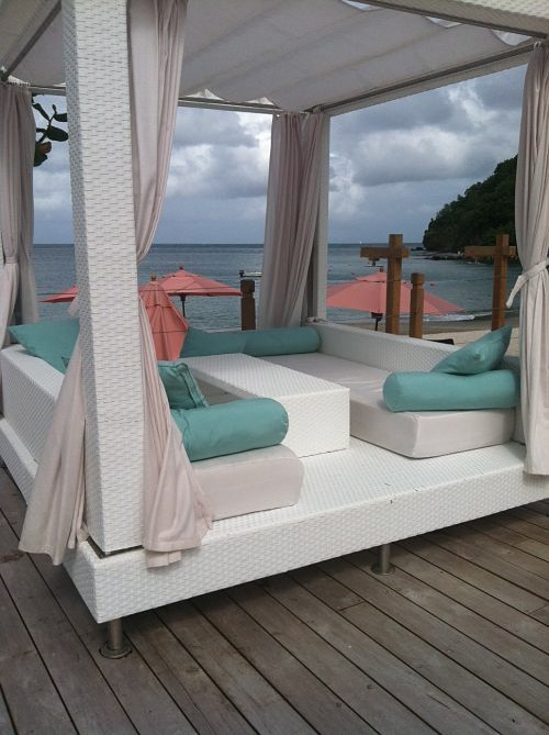 cabana at the bodyholiday st. lucia