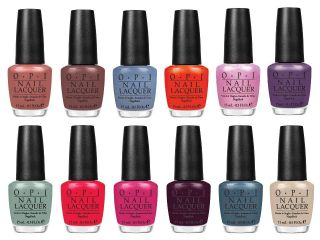 opi holland spring 2012 polish collection