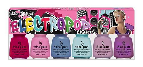china glaze spring 2012 electropop lights