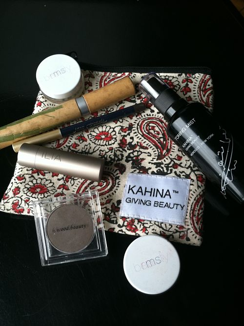 Inside Katharine L'Heureux's beauty bag