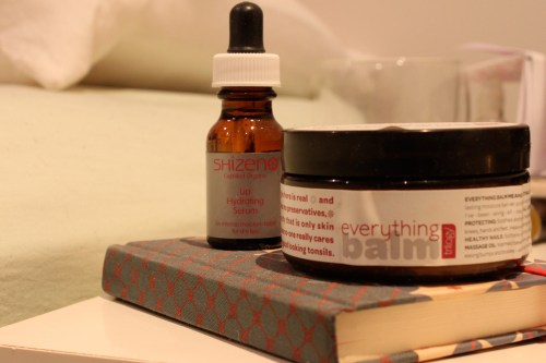 sophie the clean beauty blog trilogy everything balm shizen lip hydrating serum