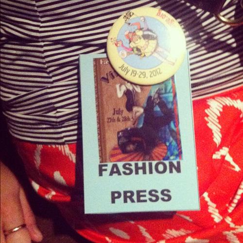 vintage on the fringe kansas city fringe festival fashion press