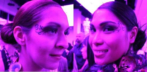 kansas city fashion week backstage beauty