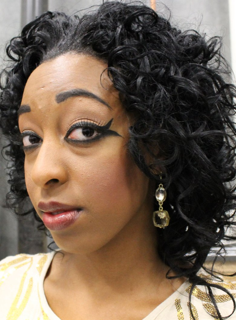 jasmine kansas city fashion week backstage beauty