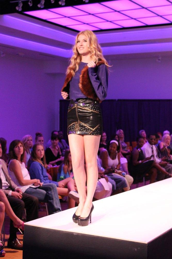 reighann model kansas city fashion week boutique sponsor showcase