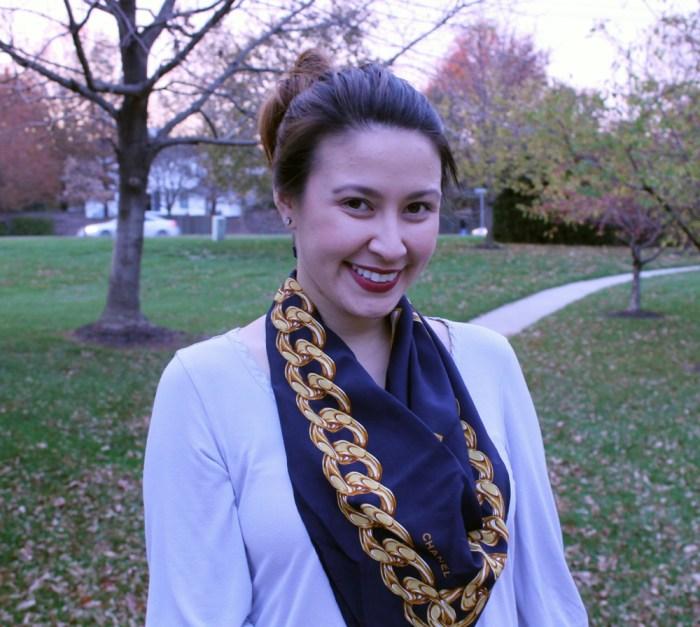 kimberlyloc vintage chanel scarf