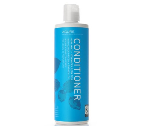 acure organics pure mint and echinacea stem cell conditioner volumizing