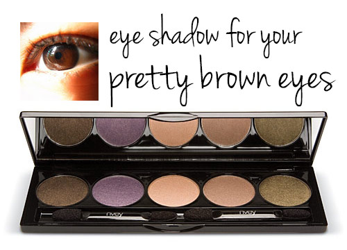 eye shadow colors for brown eyes