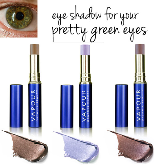 eye shadow colors for green eyes