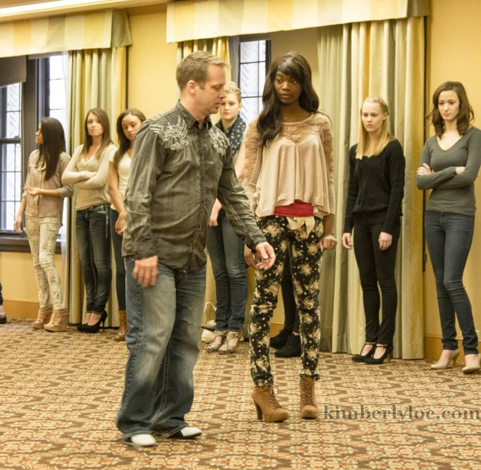 kansas city fashion week creative director kris hanke offers a model advice on how to walk for the camera