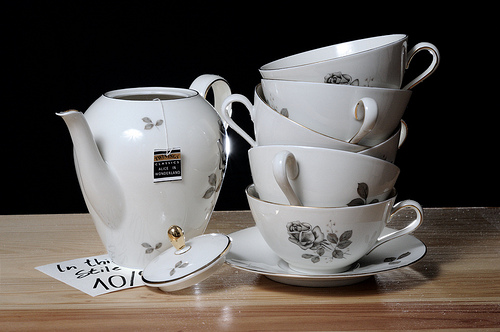 tea and teacups