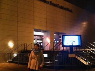 kimberlyloc outside of lincoln center during mercedes benz fashion week in new york city