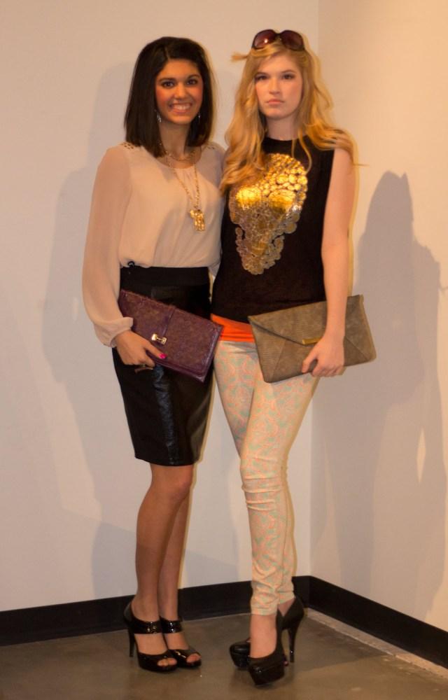joanne and reighann kansas city fashion week models