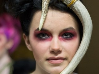 kansas city fashion week backstage beauty no human intentions silver screen