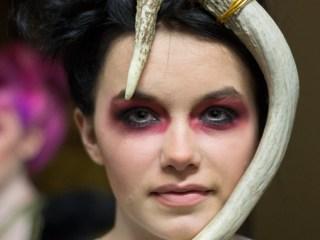 kansas city fashion week backstage beauty no human intentions silver screen