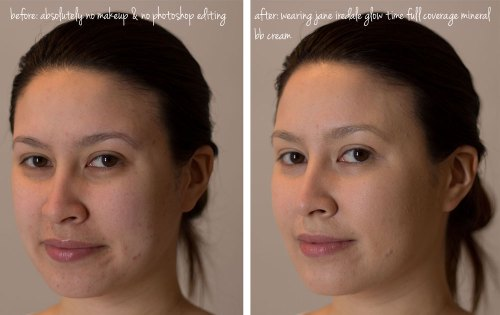 jane iredale glow time full coverage mineral bb cream kimberlyloc before and after