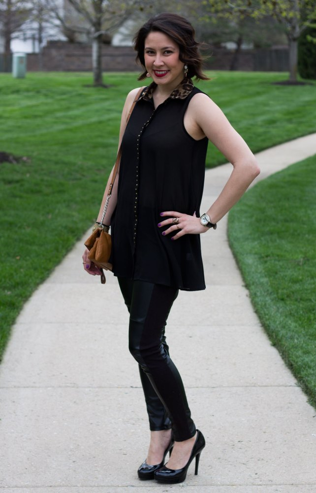 kimberlyloc black beauty outfit post