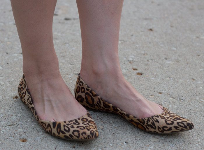 kimberlyloc pointed leopard flats