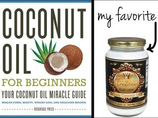 coconut oil for beginners