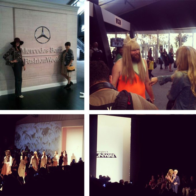 mercedes benz fashion week p'trique project runway noon by noor