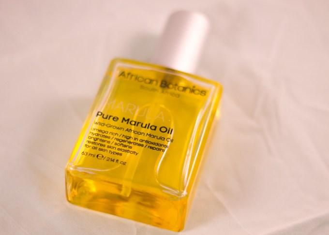 african botanics pure marula oil
