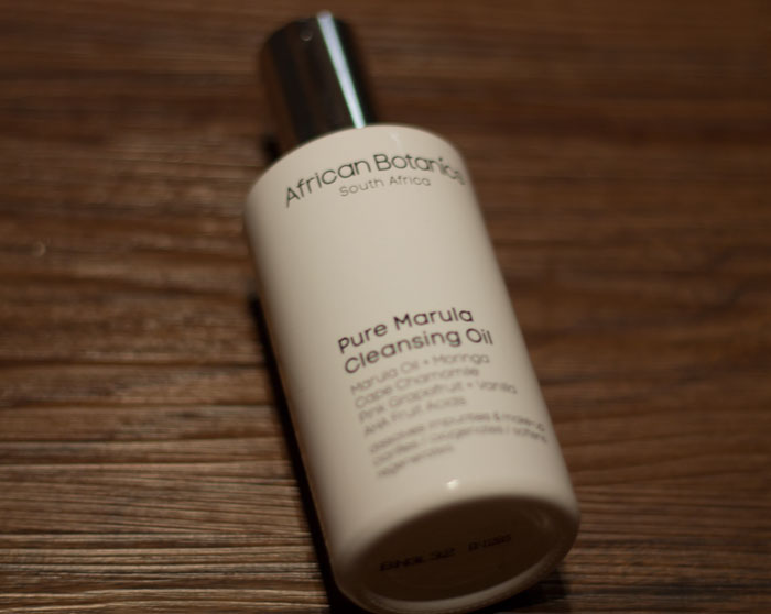 african botanics pure marula cleansing oil