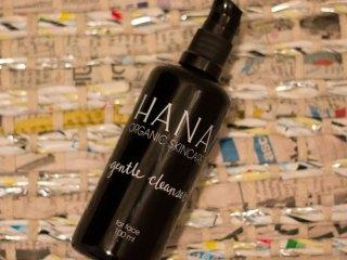 hana organic skincare gentle cleanser