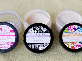 lovefresh natural cream deodorant