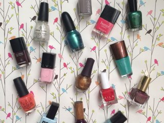 3-free and 5-free nontoxic nail polishes