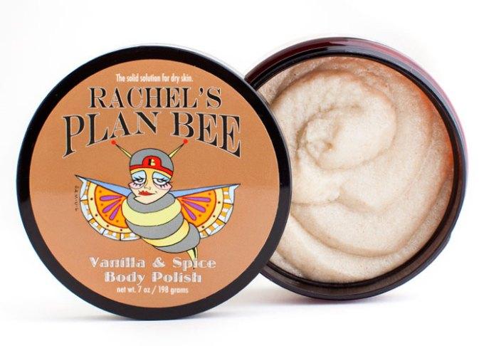 rachel's plan bee vanilla and spice body polish
