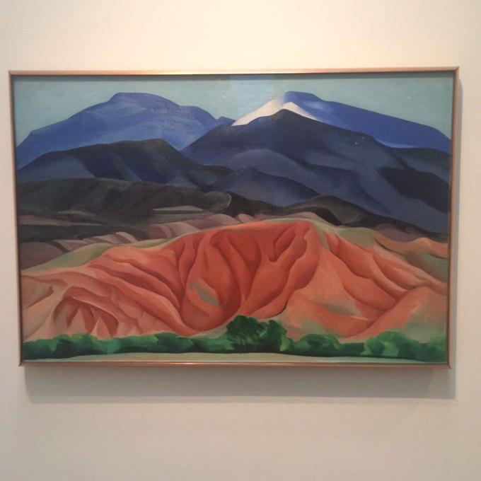 georgia o'keefe art museum santa fe new mexico