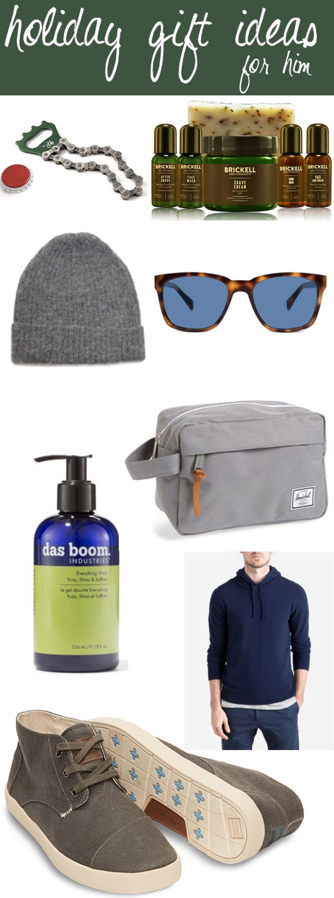 holiday gift ideas for him