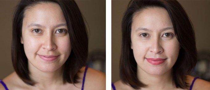 kimberlyloc without makeup / kimberlyloc wearing araza natural beauty foundation